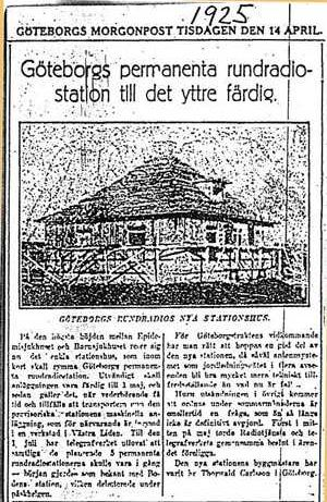 Göteborgs Morgonpost 14 april 1925