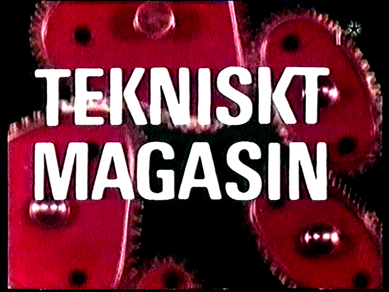 "Swedish Television ""Tekniskt Magasin"""