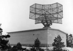 Torslanda radarstation 1965
